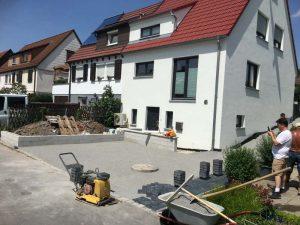 Block Paved Driveway Project