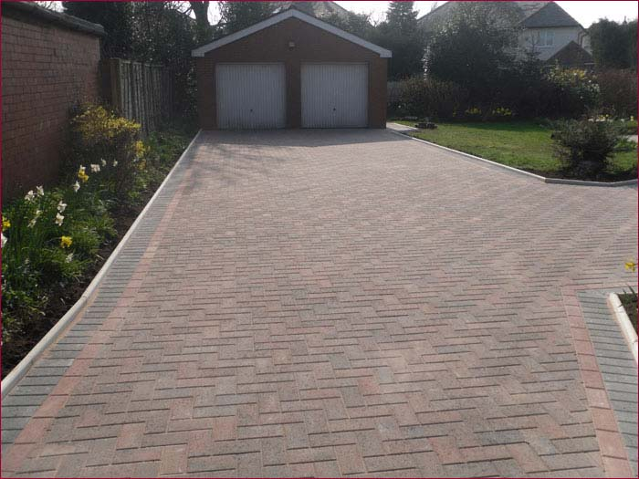 Block Paved Driveways - After