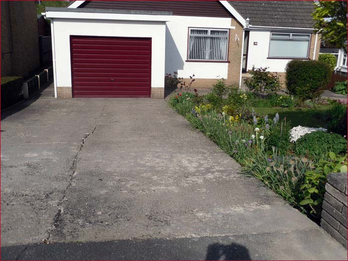Block Paved Driveways - Before