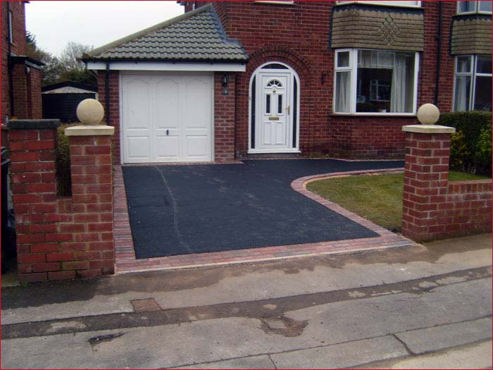 Tarmac Driveways - After