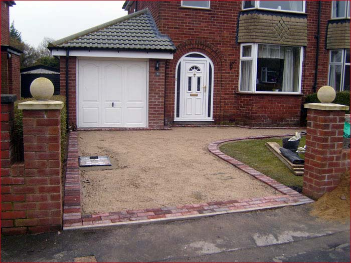 Tarmac Driveways - Before