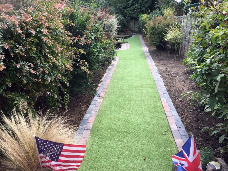 Landscaping and Artificial Grass Project