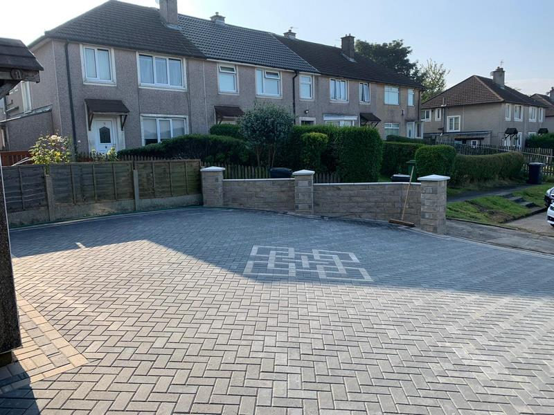 Block Paving Driveway - Bury House